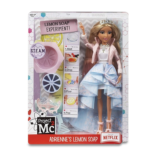 Project Mc2 Experiments With Doll - Adrienne's Lemon Soap