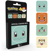 Pokemon Faces Coaster Pack