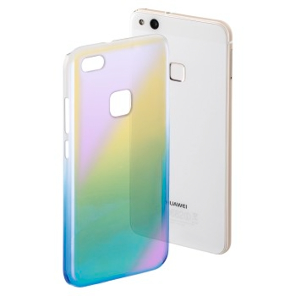 "Hama ""Mirror"" Cover for Huawei P10 Lite, yellow/blue"