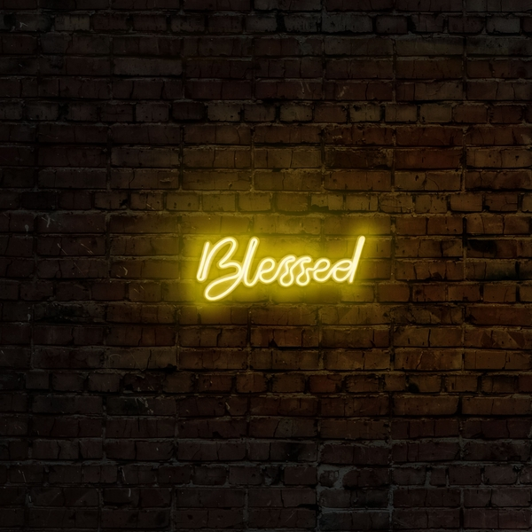 Blessed - Yellow Yellow Wall Lamp