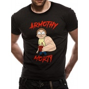 Rick And Morty - Armothy Men's Large T-shirt - Black