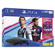 PlayStation 4 (1TB) Black Console with Fifa 19 Champions Early Access Edition