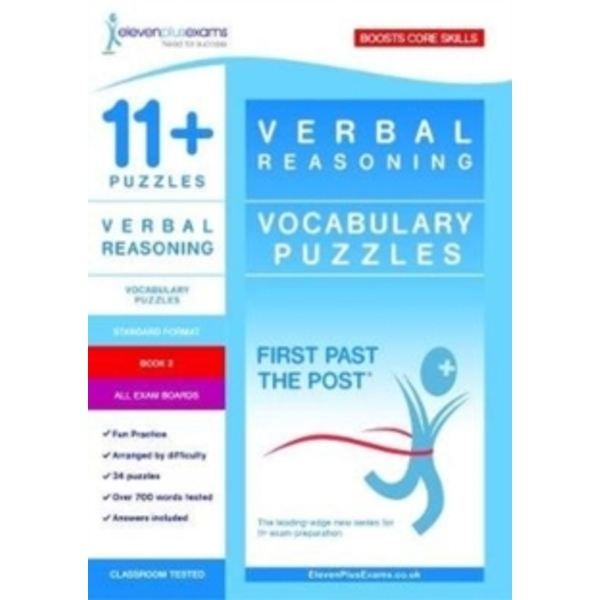 11+ Puzzles Vocabulary Puzzles Book 2