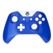 Royal Blue & White Xbox One Controller