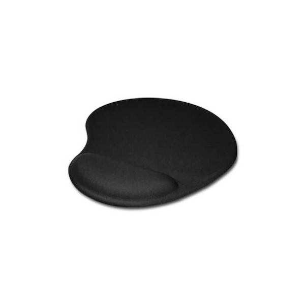 Jedel Mouse Pad with Ergonomic Wrist Rest, Black