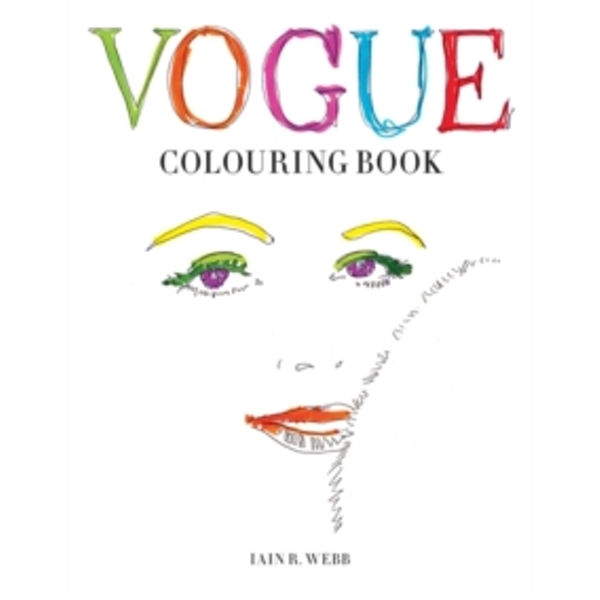 Vogue Colouring Book by Iain R. Webb (Paperback, 2015)