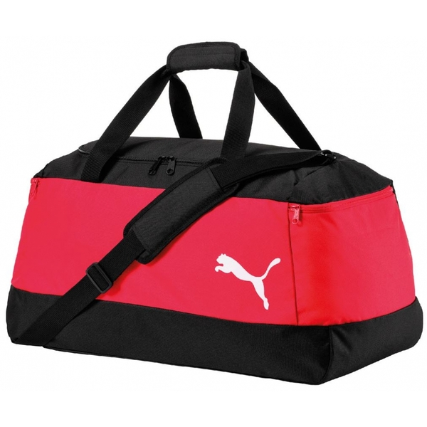e199fd351b02 Puma Pro Training II Medium Bag Black Red - ozgameshop.com