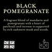 Black Pomegranate (Superstars Collection) Tin Candle - Image 3