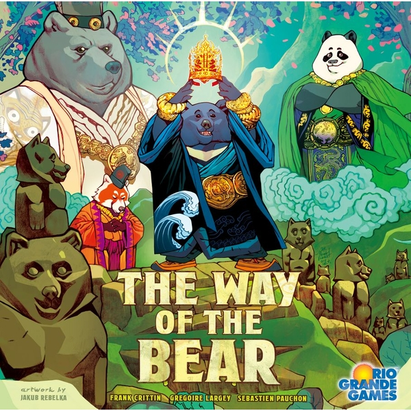 The Way of the Bear Board Game