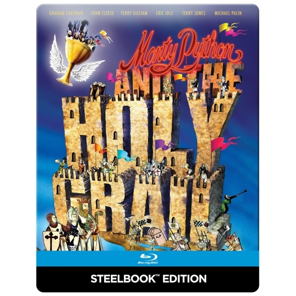 Monty Python and the Holy Grail Steelbook Blu-ray