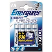 Ultimate Lithium Battery AA Size 4 Pack