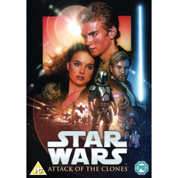 Star Wars: Attack Of The Clones DVD