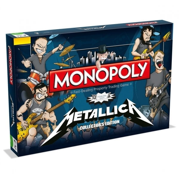 Ex-Display Metallica Monopoly Board Game Used - Like New
