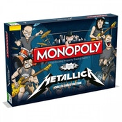 Ex-Display Metallica Monopoly Used - Like New