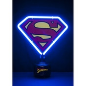 Superman Small Neon Light UK Plug