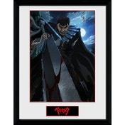 Berserk Guts Framed Collector Print