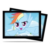 Ultra Pro My Little Pony Rainbow Dash 65 Sleeves - 10 Packs