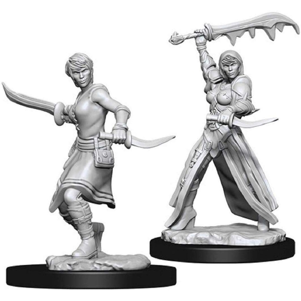 Dungeons & Dragons Nolzur's Marvelous Unpainted Miniatures (W10) Female Human Rogue