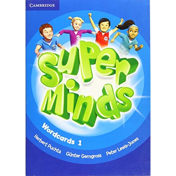 Super Minds Level 1 Wordcards (Pack of 81)  Cards 2017