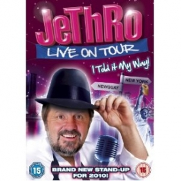 Jethro I Told It My Way Live on Tour DVD