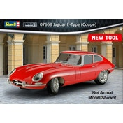 Jaguar E-Type Coupe Car 1:24 Scale Level 3 Revell Model Kit