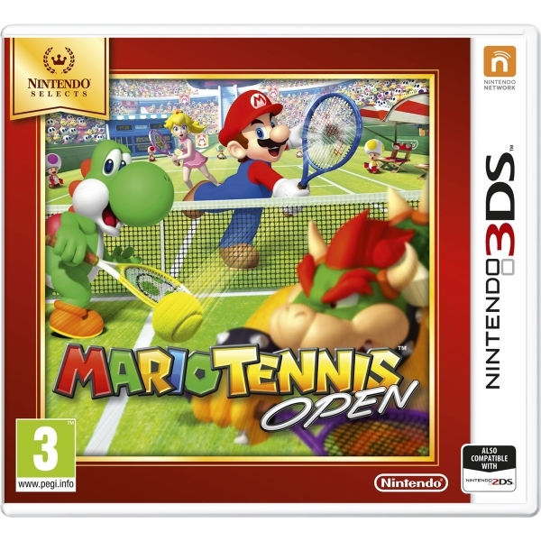 Mario Tennis Open 3DS Game (Selects)