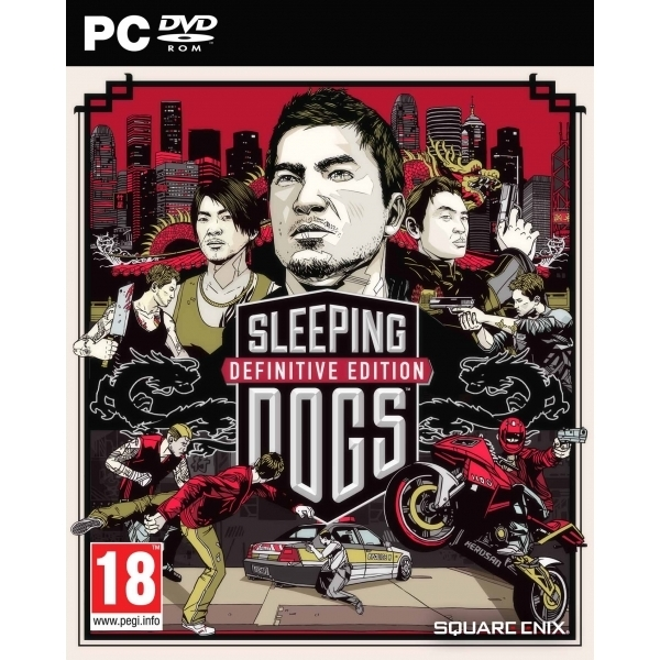Sleeping Dogs Definitive Limited Edition PC Game (Boxed and Digital Code)