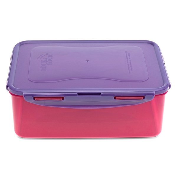 Lock & Lock Food Container, Polypropylene, Multi, 2.6L