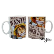 One Piece - Luffy Wanted Mug