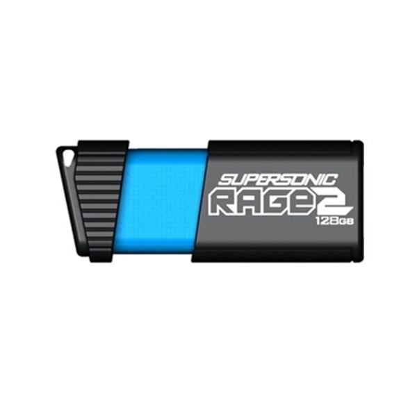 Patriot Supersonic Rage 2 128GB USB 3.1 Blue USB Flash Drive