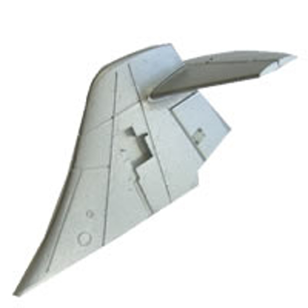 Fms F104 Starfighter Tail Wing (Silver)