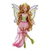 Flora - Winx Club 11.5-inch Deluxe Fashion Doll Harmonix