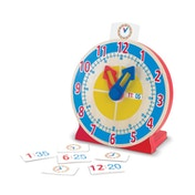 Melissa & Doug Turn & Tell Wooden Clock (14284)