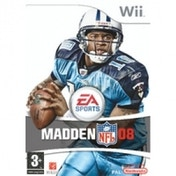 Madden NFL 2008 Game Wii