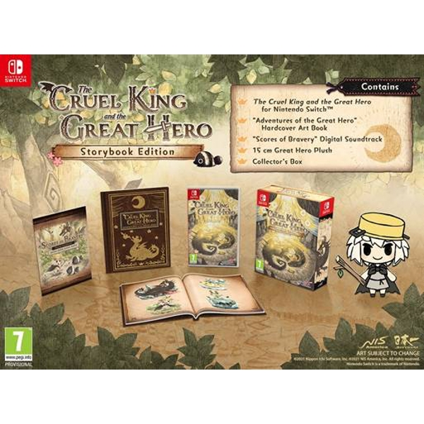 The Cruel King And The Great Hero Nintendo Switch Game