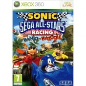 Ex-Display Sonic & Sega All-Stars Racing Game Xbox 360 Used - Like New