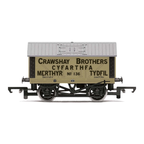 Hornby Crawshay Brothers 8T Lime Wagon No. 136 Era 2/3 Model Train