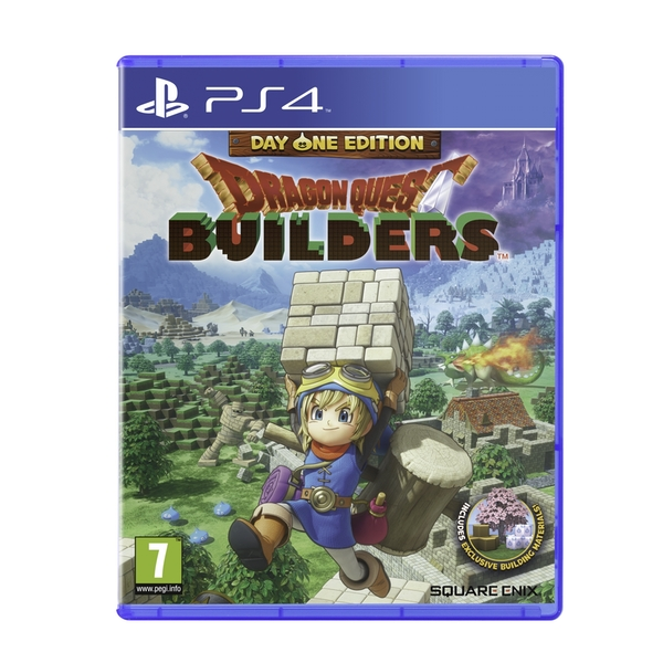 Dragon Quest Builders Day One Edition Game PS4