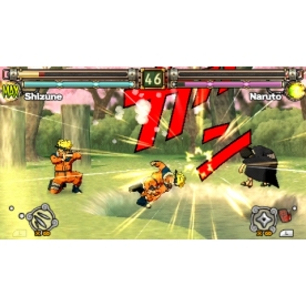 Naruto Ultimate Ninja Heroes 2 The Phantom Fortress Game PSP - Image 4