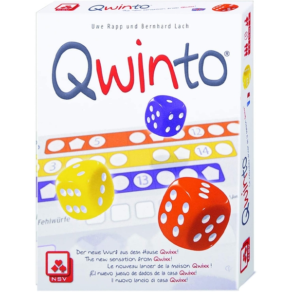Qwinto West Dice Game