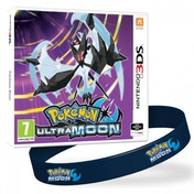 Pokemon Ultra Moon + Pokemon Moon Wristband 3DS Game