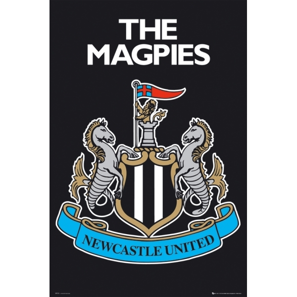 Newcastle United Club Crest Maxi Poster