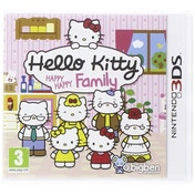 Hello Kitty Happy Happy Family 3DS Game