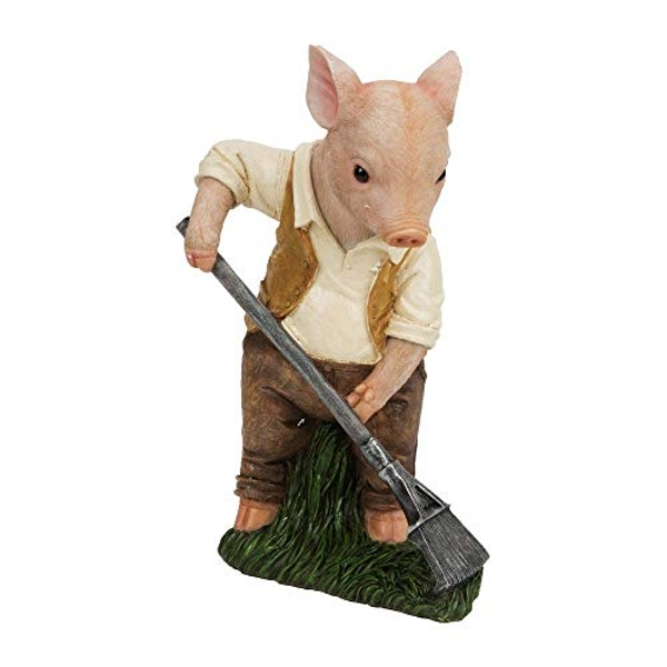 Naturecraft Collection - Gardening Piglet