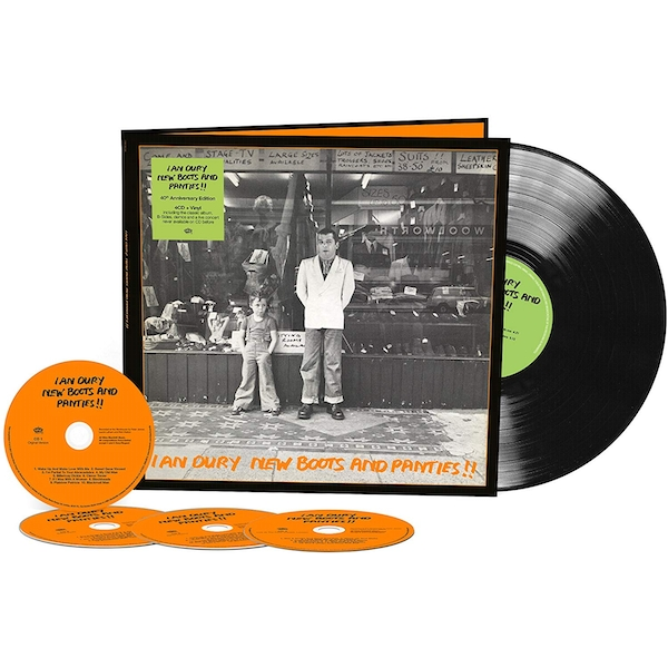 Ian Dury New Boots And Panties - 40th Anniversary Edition Vinyl + CD