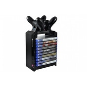 Officialy Licensed PS4 Games Tower & Dual Charger For PS4