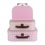 Sass & Belle Spring Retro Daisy Suitcases  (Set of 3)
