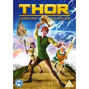 Thor Legend Of Valhalla DVD