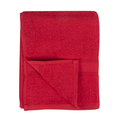 Victoria London Egyptian Cotton Towels 500GSM Bath Towel Red