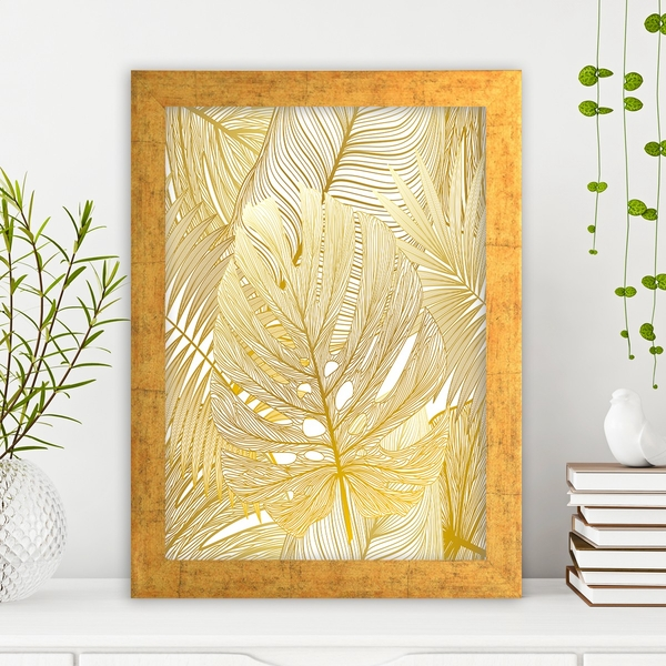 AC1046210452 Multicolor Decorative Framed MDF Painting